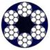 Συρματόσχοινο γαλβανιζέ καννάβινη ψυχή