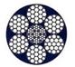 Συρματόσχοινο γαλβανιζέ χαλύβδινη ψυχή