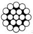 Συρματόσχοινο ασύστροφο ανοξείδωτο aisi 316