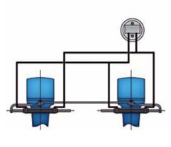 Υδραυλικό σύστημα εξωλέμβιας μηχανής