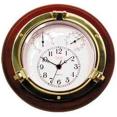 Ρολόι βαρόμετρο-υγρασιόμετρο-θερμόμετρο