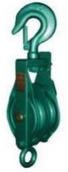 Μακαράς πράσινος με γάντζο διπλός