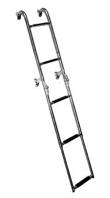Σκάλα καθρέπτου ανοξείδωτη στενή