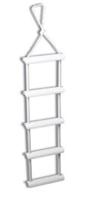 Σκάλες με σχοινί και πλαστικά σκαλιά
