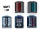 Εώς 12 μέτρα πλαστικοί μαύροι με χρωμέ σημεία